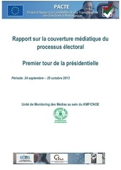 rapport final monitoring medias 1er tour