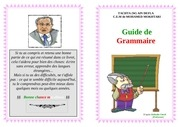 guide de grammaire