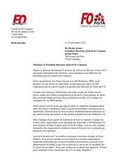 lettre au pdg
