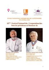 reglement 10eme festival national des croquembouches