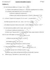 revision complexe isometrie derivabilite bac math 1
