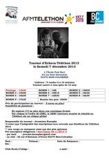 affiche telethon 2013 2