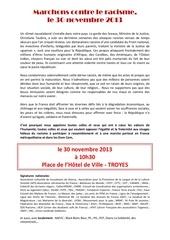 appel rassemblement 30nov13 tract