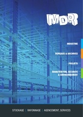 catalogue 2013 mdr solutions de stockage