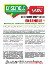 ensemble appel a participer au mouvement