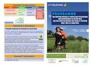 programme telethon 2013 a4