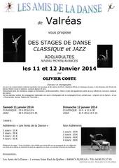 affiche olivier coste janvier 2014 1