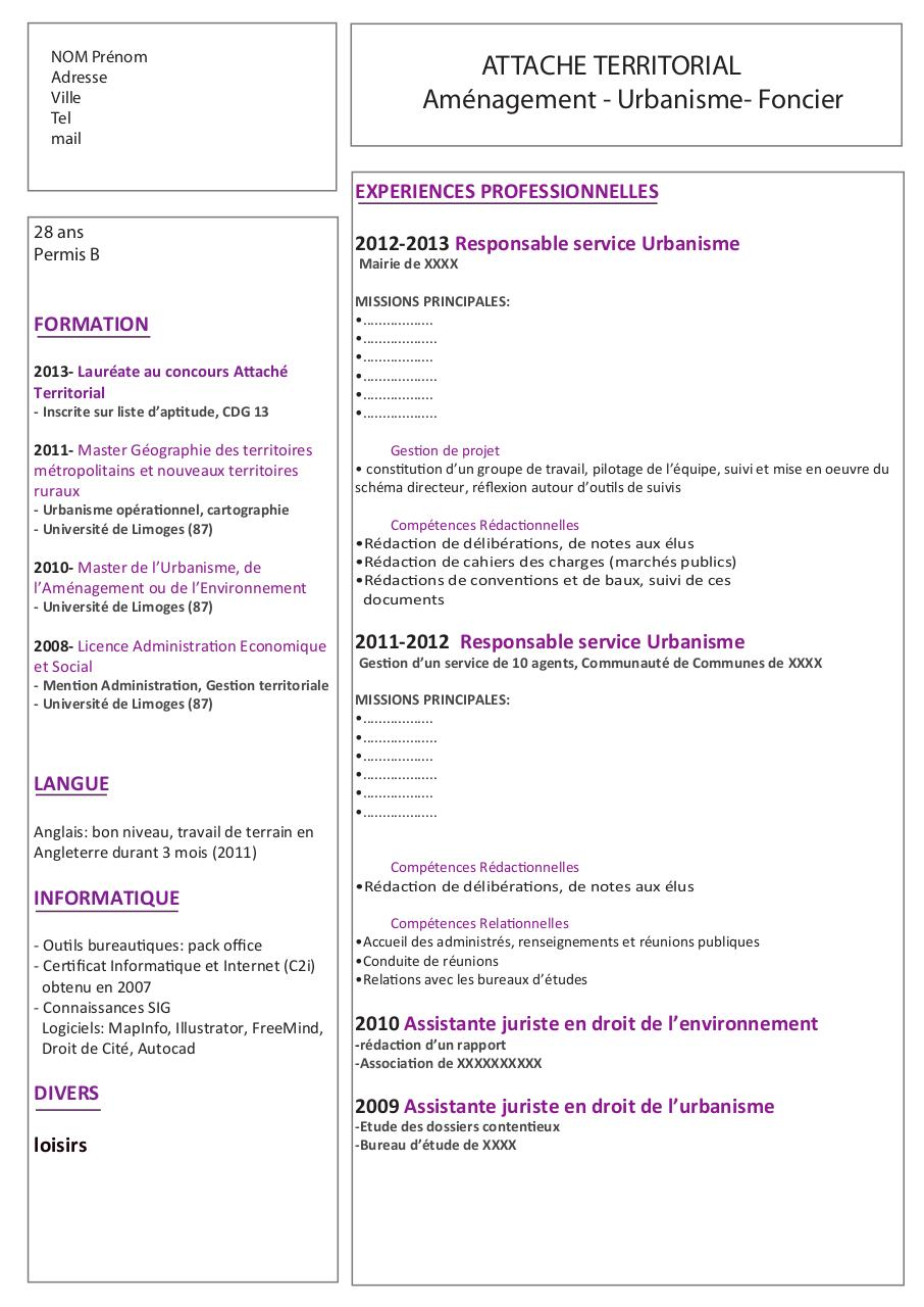 untitled 1 - cv exemple pdf