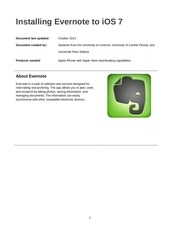 Fichier PDF evernote instructions english version