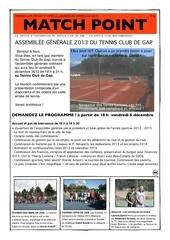 programme agtcgap 2013 ori