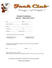 bulletin d ahesion 2014 jc