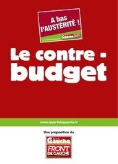 contre budget pg 2012