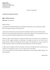 lettre motivation et cv dec 2013