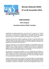 intervention 27112013ecotaxe