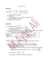 Fichier PDF matrice 4eme eco