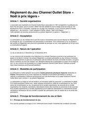 Fichier PDF reglement noel a prix legers