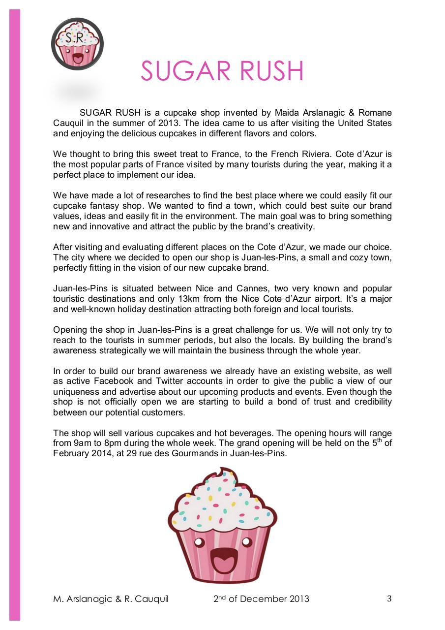 SUGAR RUSH - Final Report - Arslanagic & Cauquil.pdf - page 3/17