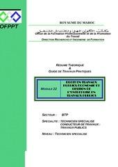 m22 droit en tp economie et gestion de l entreprise btp tsct