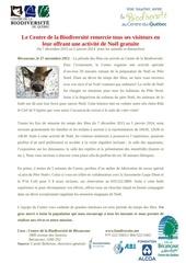 noel 2013 communique de presse