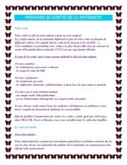 Fichier PDF preparer sa sortie de la maternite