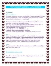 Fichier PDF preparez votre sejour a la maternite