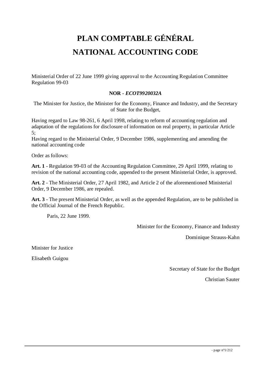 e93d3a819fe1 pcg Anglais par Conseil national de la comptabilité - Traduction PCG ...
