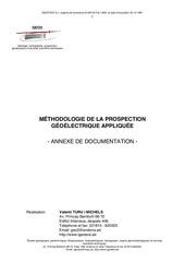 a1 methodologie prospection geoelectrique