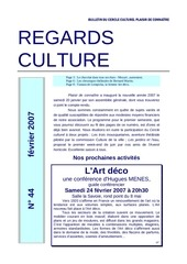 regards culture n 44