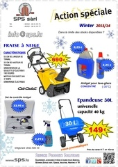 action speciale winter 2013 14 sps lu