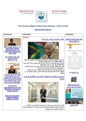 aihr iadh human rights press review 2013 12 06