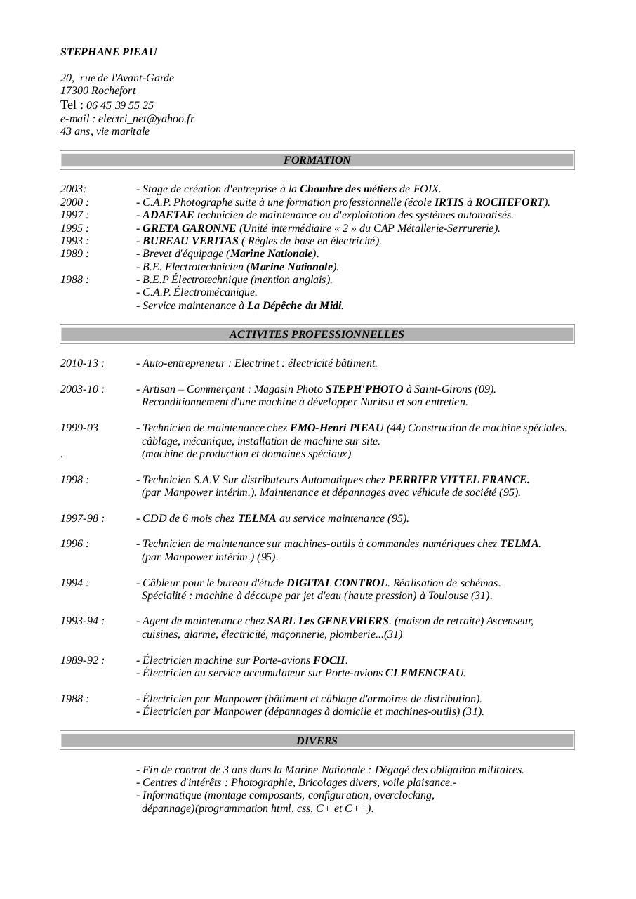 cv 8 pdf par pascale fontas