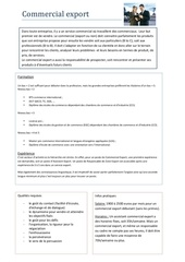 Fichier PDF fiche metier commercial export