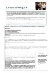 Fichier PDF fiche metier responsable magasin