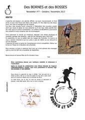 newsletter n 7 dbdb octobre novembre 2013