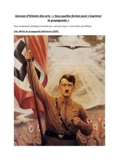 une affiche de propagande hitlerienne 1935