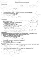 geometrie dans l espace bac sc exp
