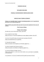 statut pecuniaire 18 11 2013