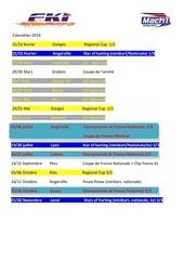 Fichier PDF calendrier course 2014