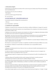 mentions legales openoffice pdf