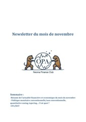 newsletter opa