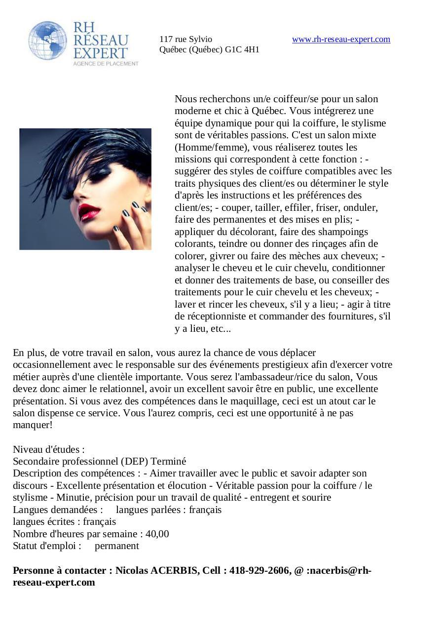 Mallette de coiffure professionnel pas cher coloration for Salon de coiffure qui recherche apprenti