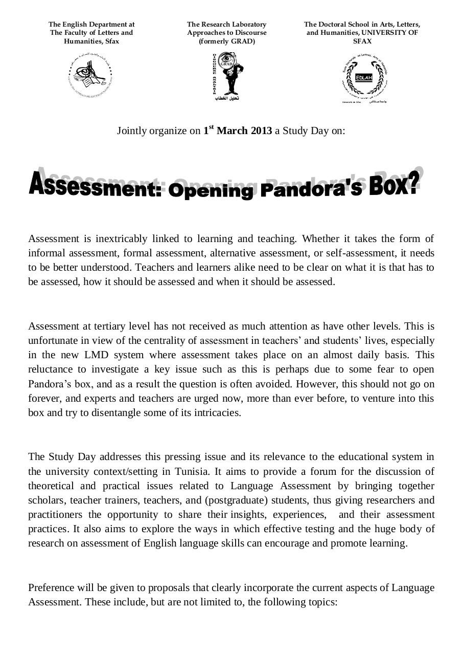 Call for Papers on Language Assessment.pdf - page 1/2