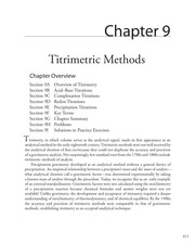 chapter9 titrimetric methods