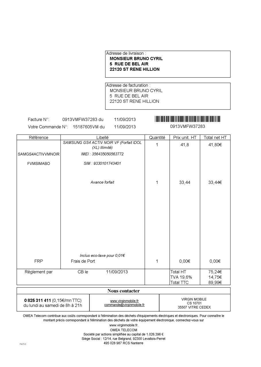 a ksl document duplicata facture fichier pdf. Black Bedroom Furniture Sets. Home Design Ideas