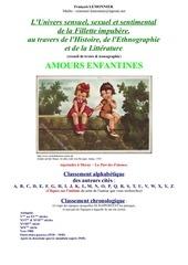 Fichier PDF amours enfantines recueil de textes