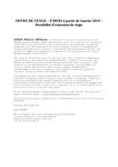 offre de stage logos public affairs