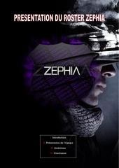 roster zephia