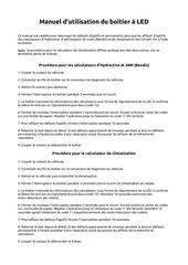 Fichier PDF manuel d utilisation du boetier a led