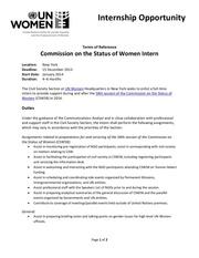 unwomen internship csw2014 pdf