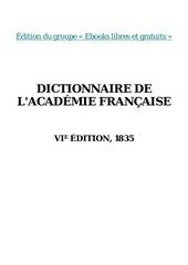 dictionnaire academie francaise 1835 3